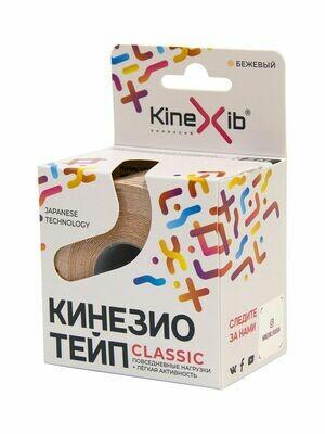 Тейп Kinexib Сlassic, 5см х 5м, телесный