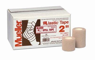 Mueller M Lastic® Tape, Когезивный тейп, телесный 5.0 см х 4,5 м