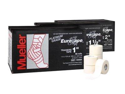 Mueller тейп Eurotape Platinum, 2,5см x 10м