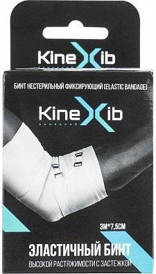 Эластичный бинт KineXib , 7,5см х 3м, белый
