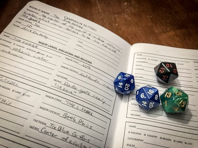 RPG Campaign Journal