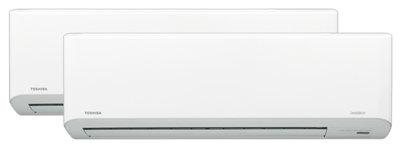 Toshiba Multisplitt med Gulvmodell Inkl. Std. Montasje
