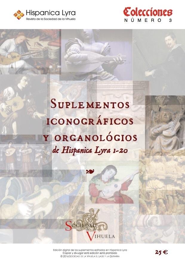 Suplementos iconográficos y organológicos (HL1-20)/ Iconographical and organological supplements (HL1-20)