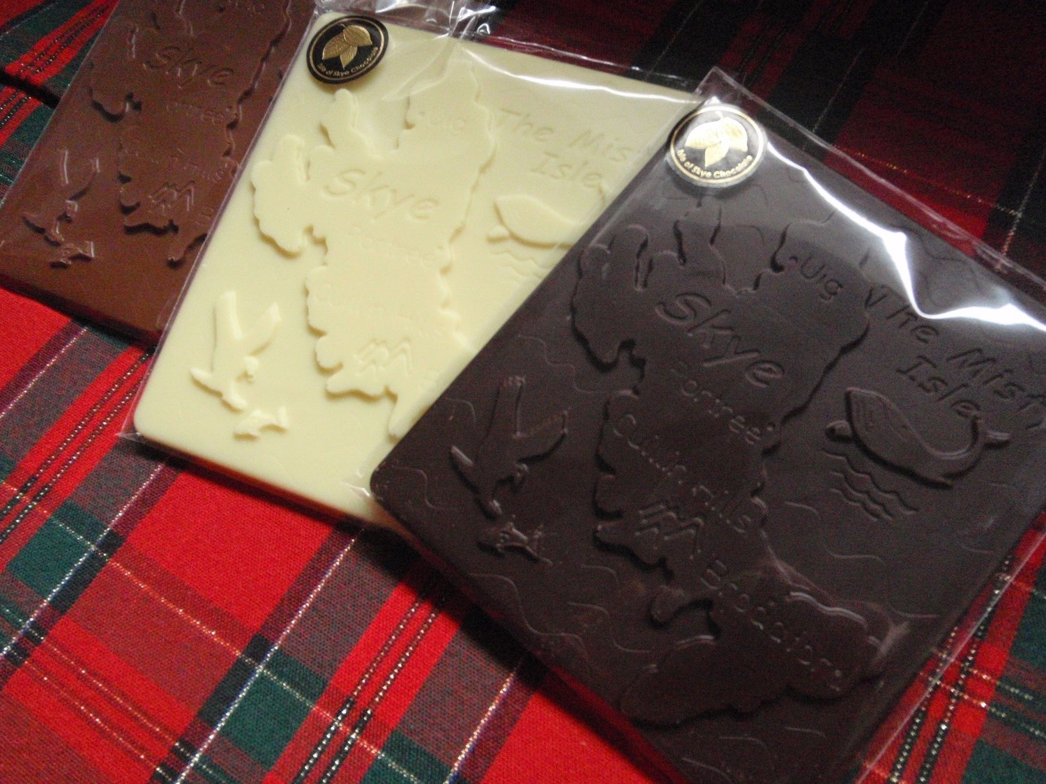WHITE CHOCOLATE ISLE OF SKYE MAP