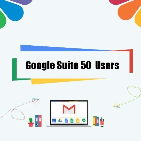 Google Suite Legacy - 50 User 00000