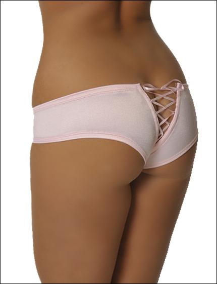Satin panty butts