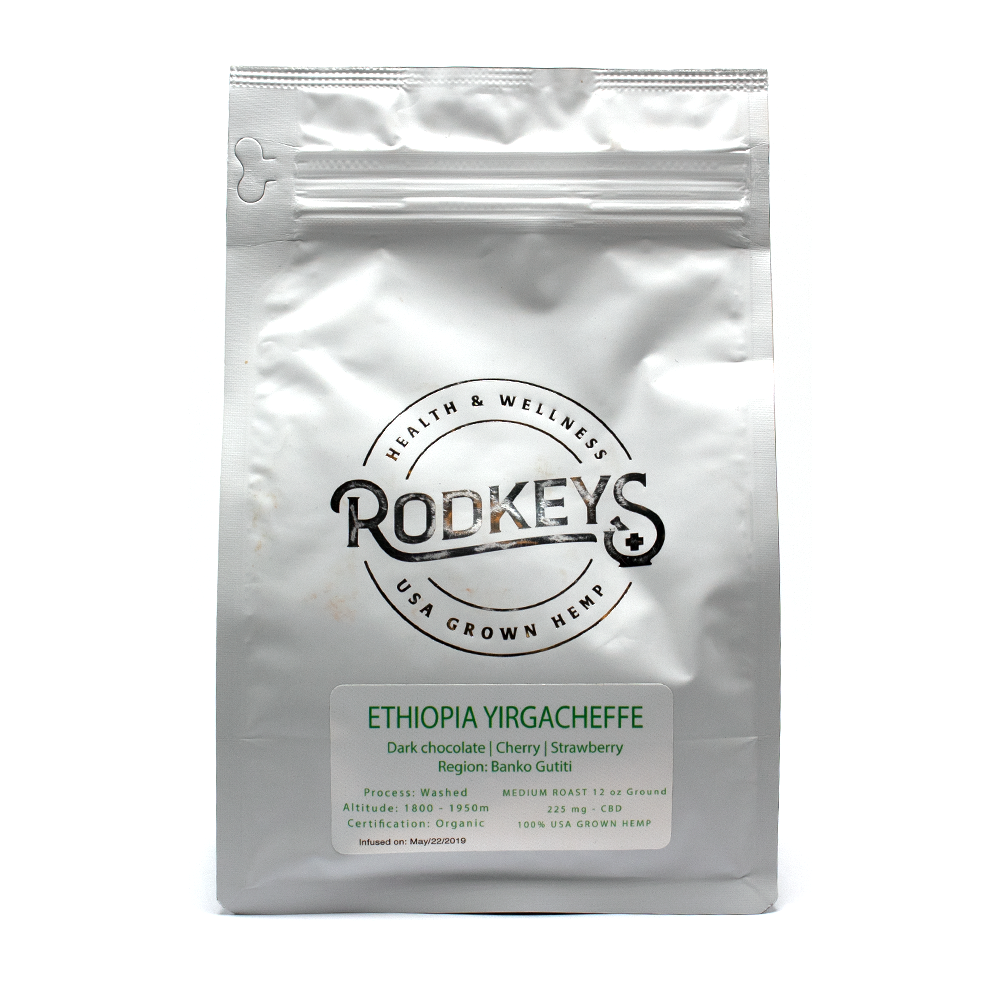 Rodkeys Yirgacheffe CBD Coffee