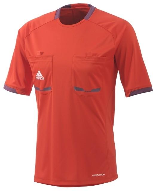 Referee12 Poppy Red Shirt