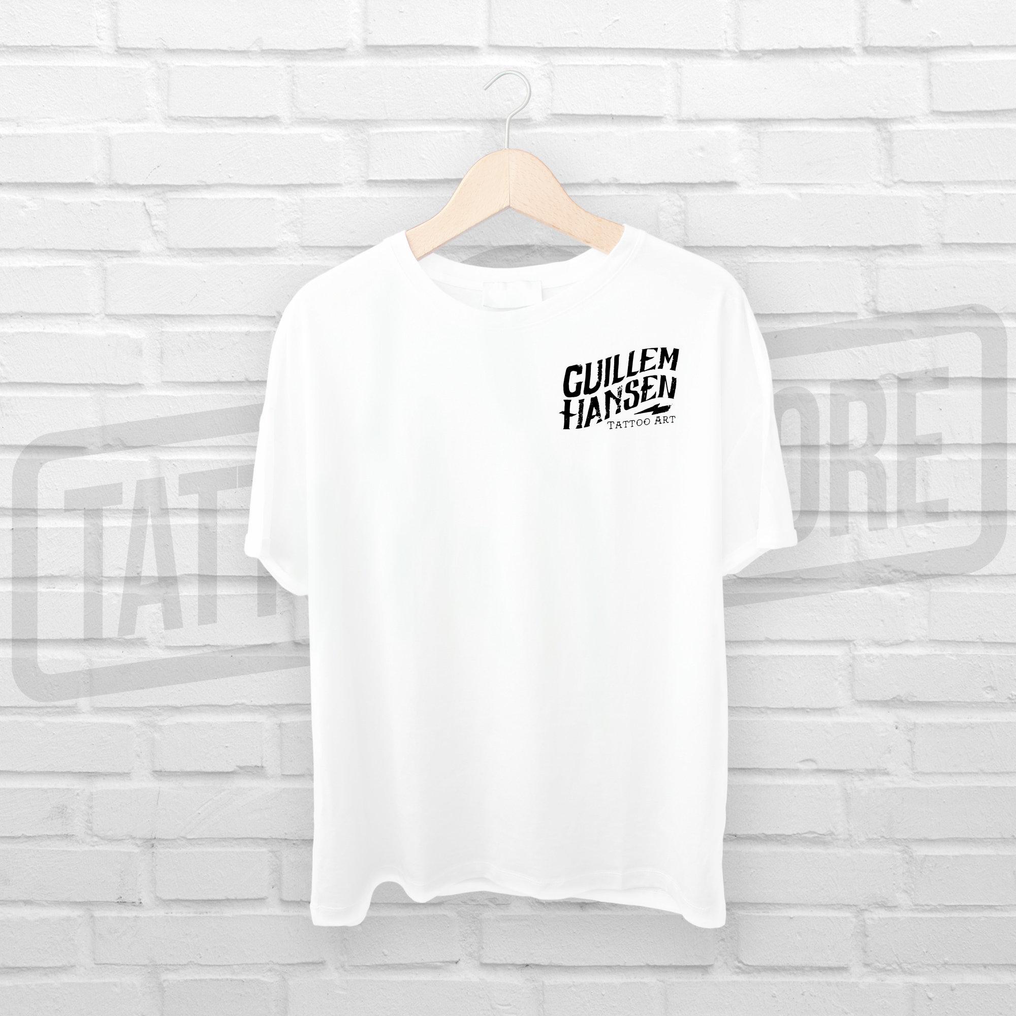 Camiseta Skull & Rose - Guillem Hansen