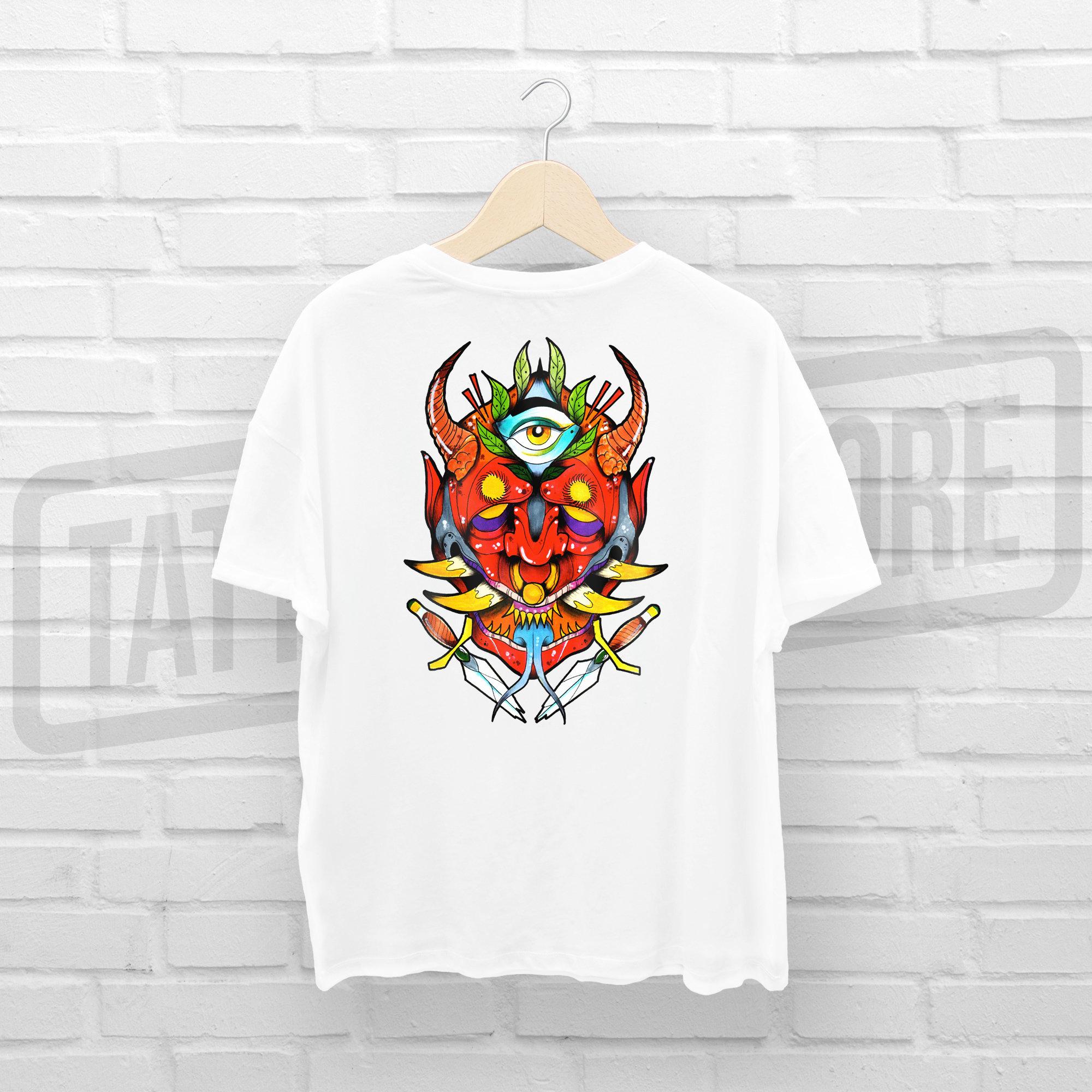 Camiseta Toro Tattoo TSTTCM001