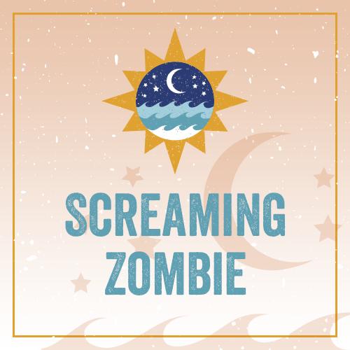Screaming Zombie DVMN