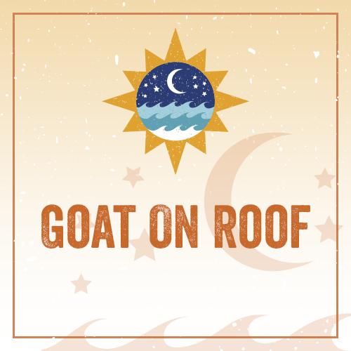 Goat On Roof REG01