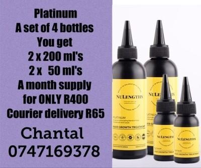 Platinum Hair Growth 1 Month's Supply