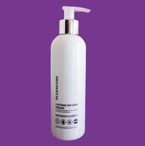 NuLengths Caffeine Infused Argan Hair Growth Shampoo