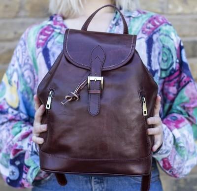 a129ee56b Leather Backpacks | Leather Rucksacks | Satchel Backpack | Travel ...