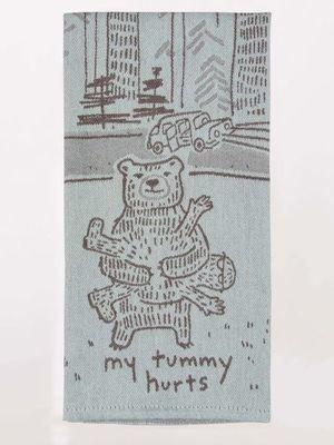 Blue Q Dish Towel tummy