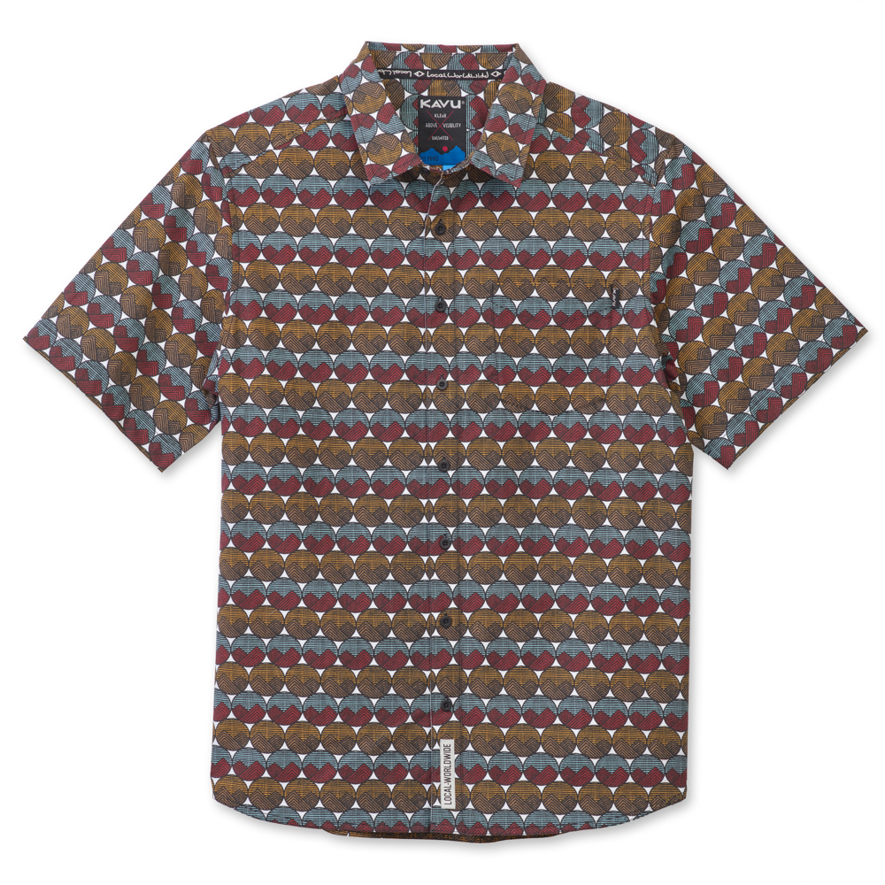 Kavu Festaruski Men's Short Sleeve Shirt JRI1KAFESS