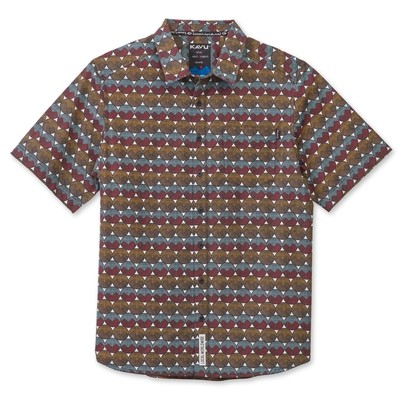 Kavu Festaruski Men's Short Sleeve Shirt