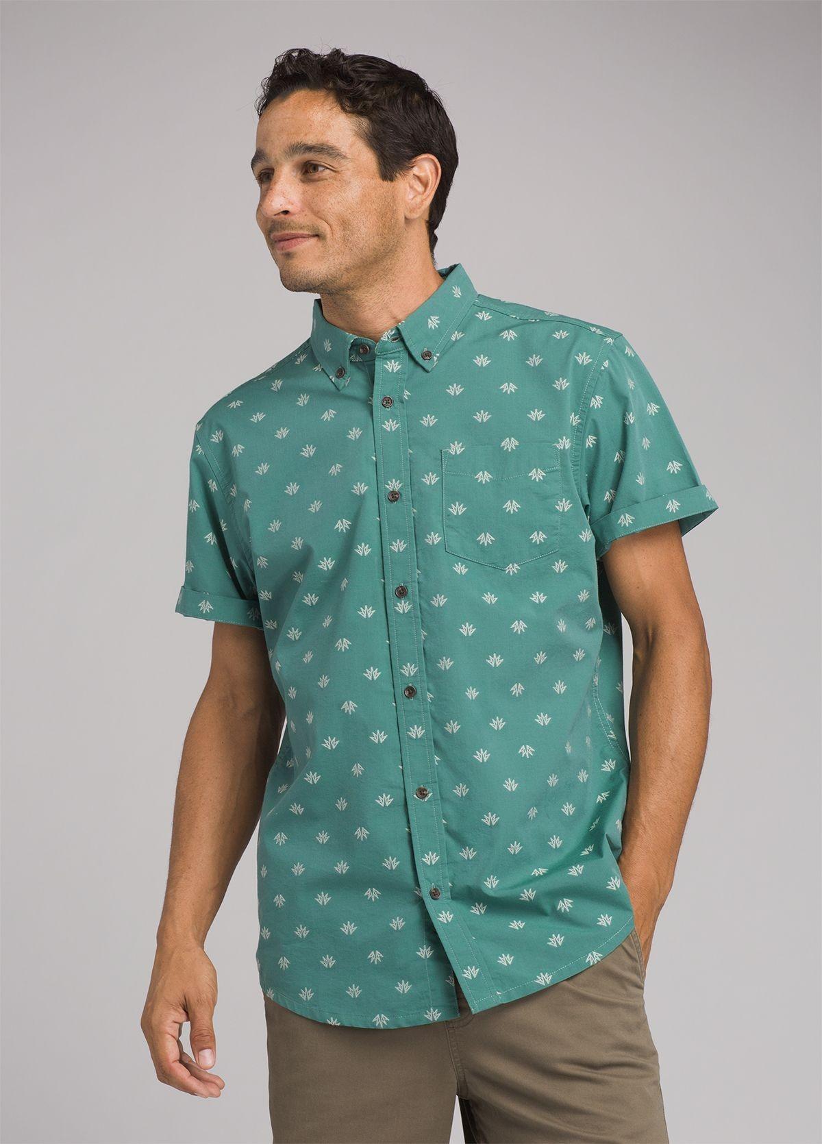 prAna Broderick Men's Short Sleeve Shirt JRIPraBSS