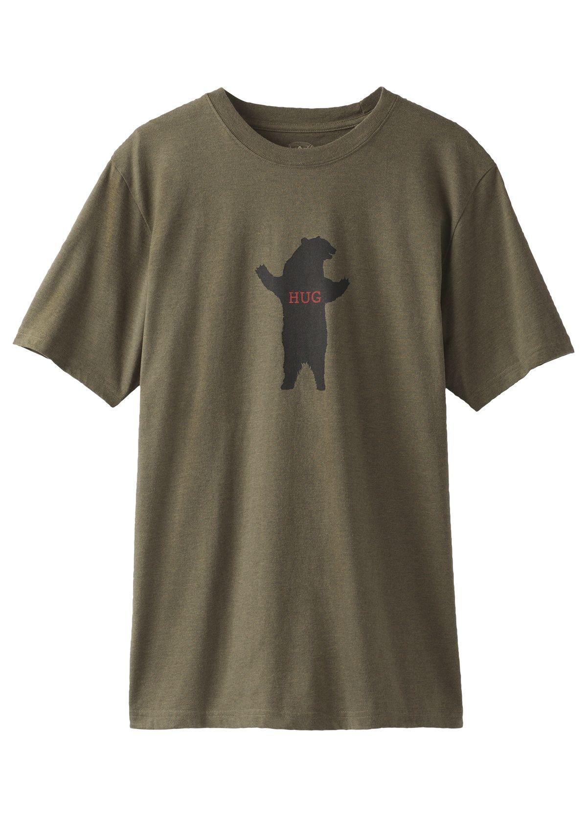 prAna Bear Hug Journeyman Tee Shirt JRIPRbh