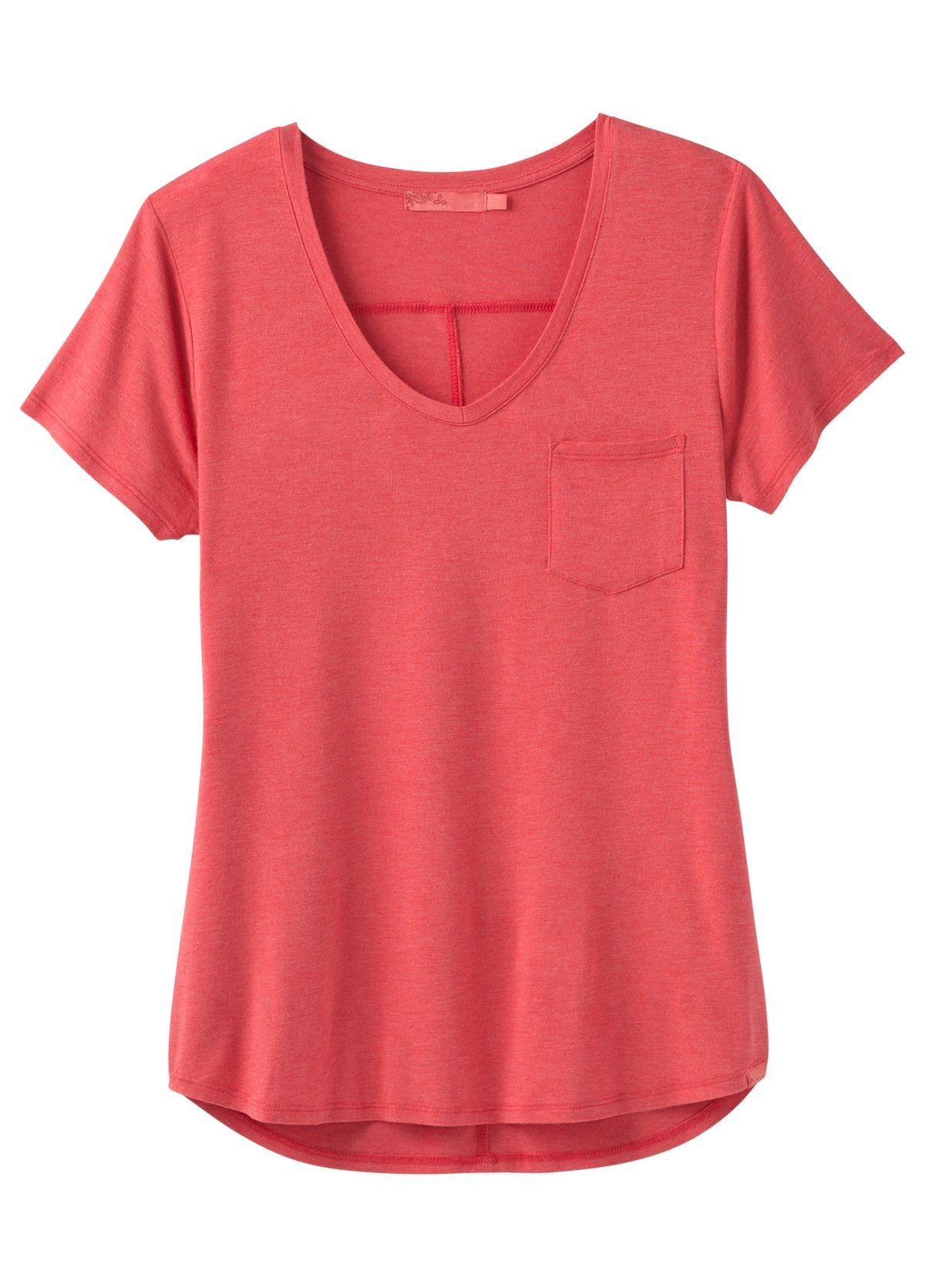 prAna Foundation Short Sleeve V-neck PRFSSVN