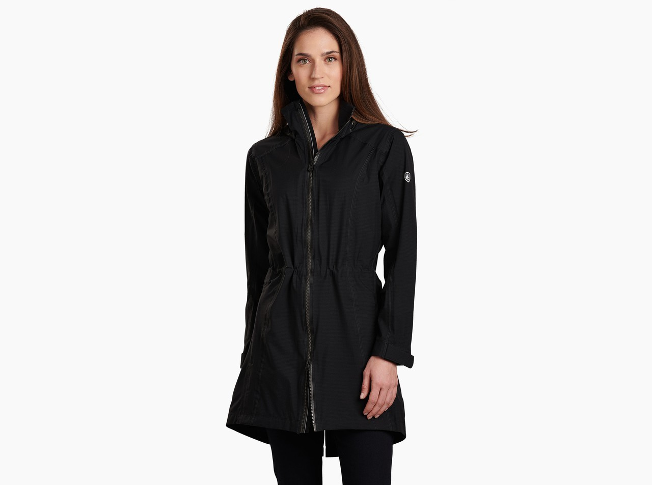 Kuhl Women's Jetstream Trench Rain Jacket JRIKuJSTW