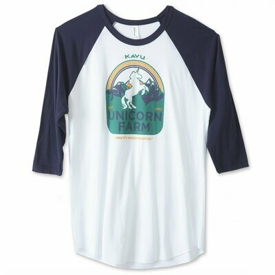 Kavu Team Unicorn Raglan