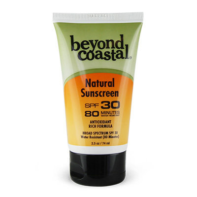 Beyond Coastal Natural Sunscreen SPF 30