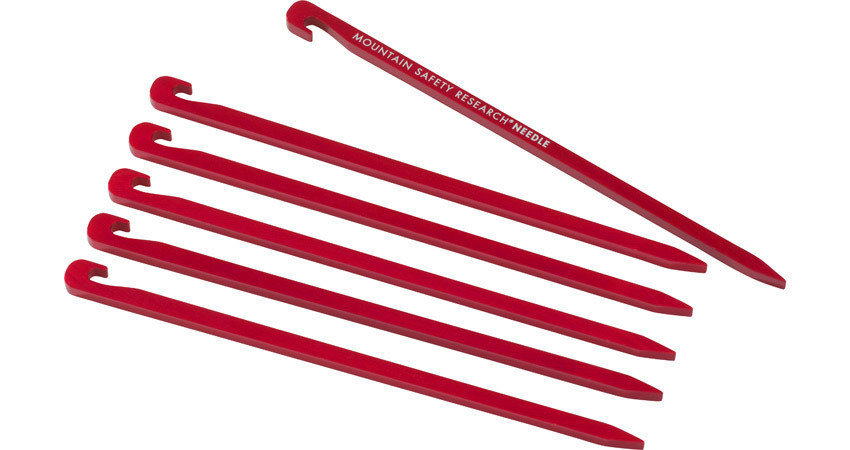 MSR Needle Tent Stakes - 4 Pack JR1msrneets4p