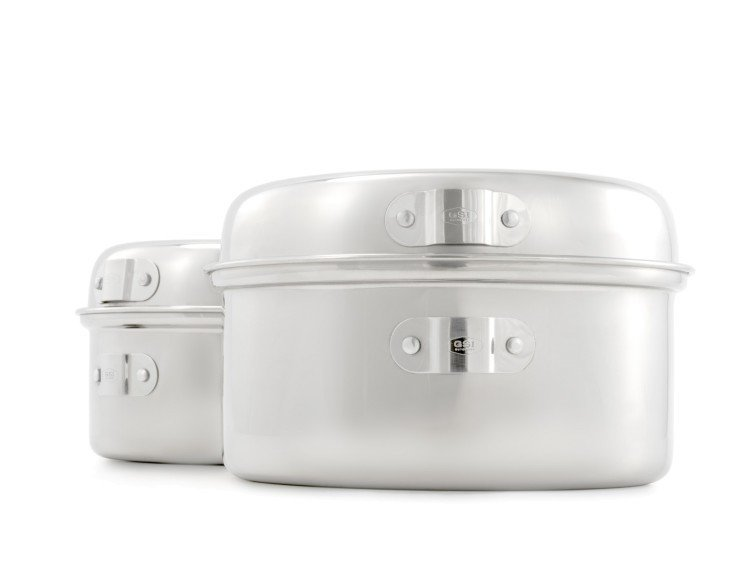 GSI Glacier Stainless Cookset - SM