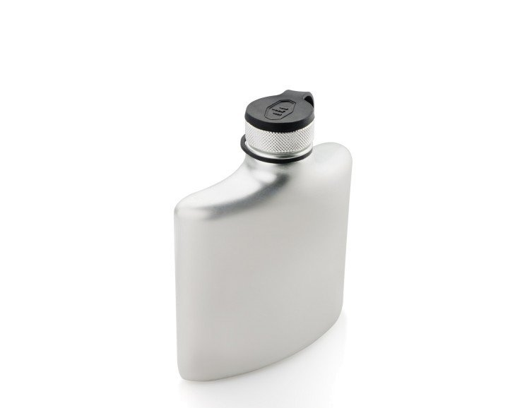 GSI Glacier Stainless Hip Flask - 6 fl oz