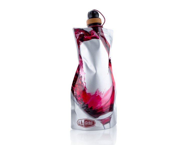 GSI Outdoors Soft Sided Wine Carafe