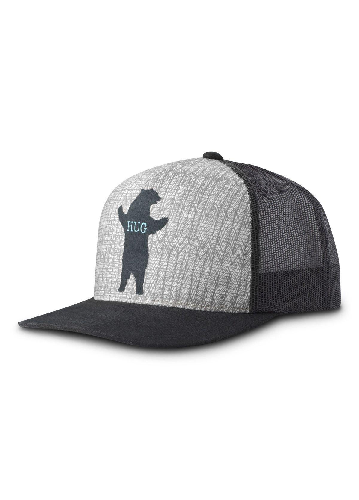 prAna Journeyman Trucker Hat Bear Hug PRJMbear