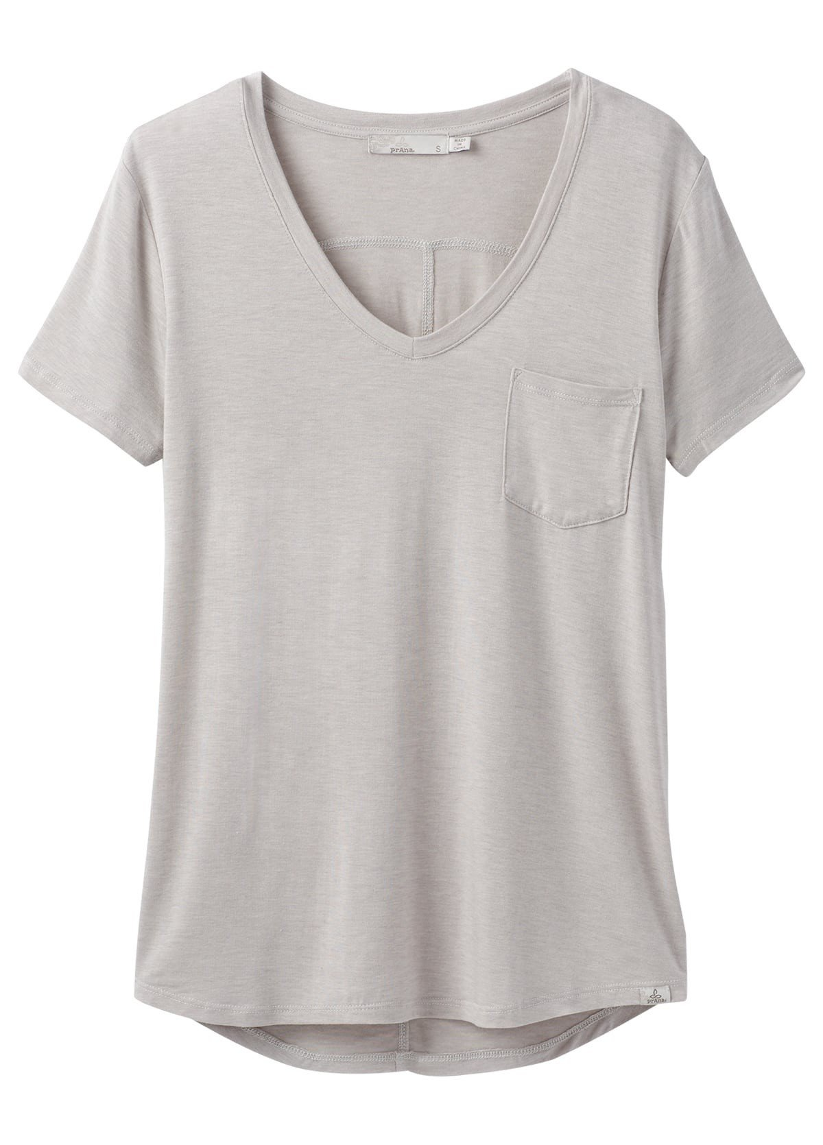 prAna Foundation Short Sleeve V-neck