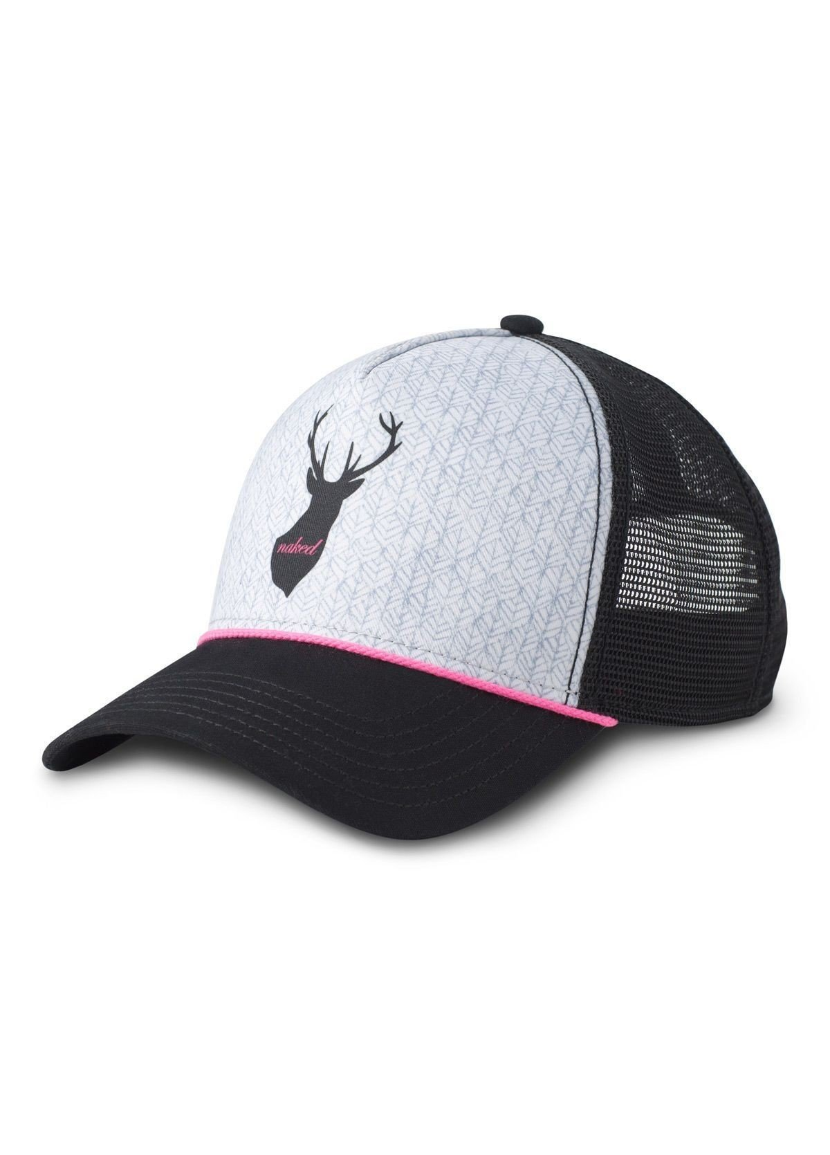 prAna Women's Journeyman Trucker Hat Buck Naked PRJMTHwbuck