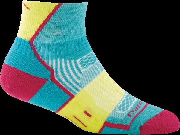 Darn Tough BPM 1/4 Light Cushion Women's Running Sock