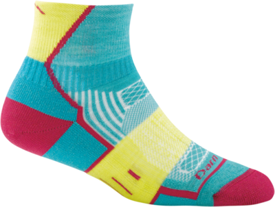 Darn Tough BPM 1/4 Light Cushion Women's Running Sock