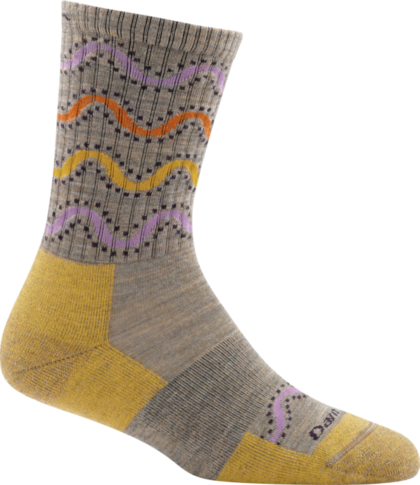 Darn Tough Wandering Stripe Micro-Crew Light Cushion Women's Hiking Sock