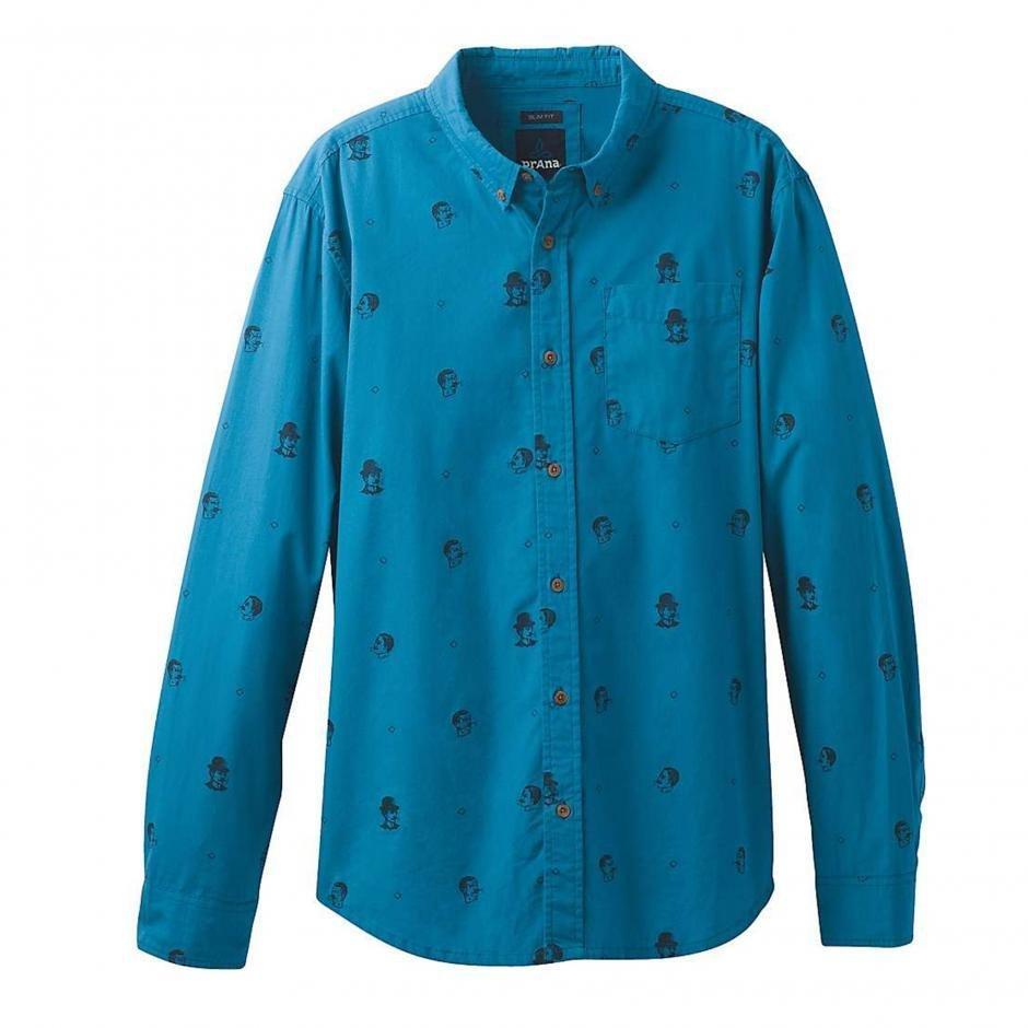 prAna Broderick Long Sleeve Shirt PRBLSS