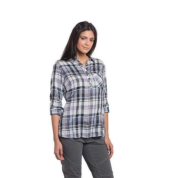 Kuhl Spektra Plaid Women's Long Sleeve Shirt JR1KuSpPd
