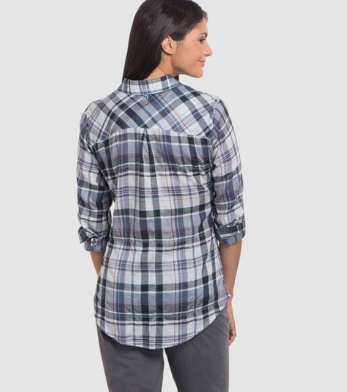 Kuhl Spektra Plaid Women's Long Sleeve Shirt
