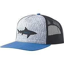 prAna Journeyman Trucker Hat Shark Bait PRJTHshark
