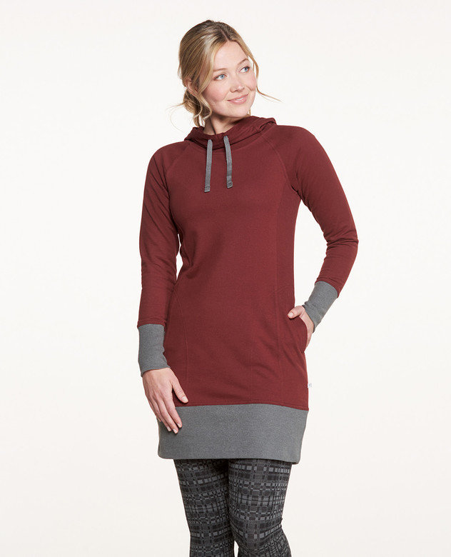 Toad&Co BFT Hooded Dress JR1TCHoodD