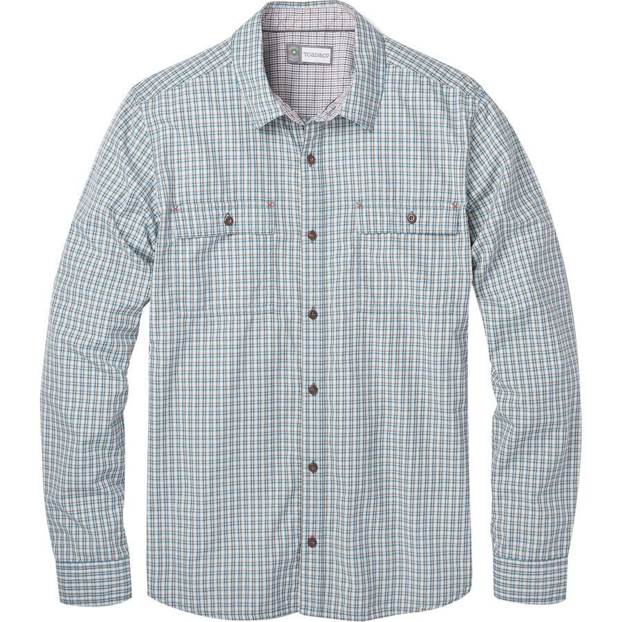 Toad&Co Debug Eddyline Long Sleeve Shirt JRI1TCDELSS