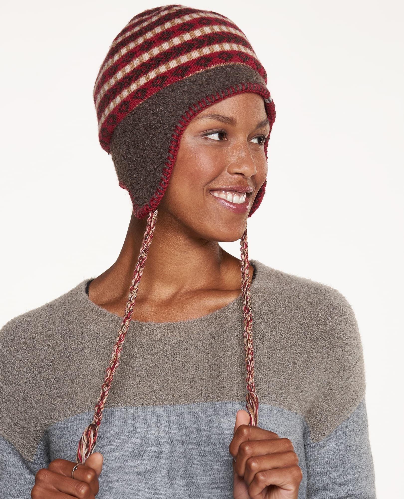 Toad&Co Fairisle Peruvian Hat