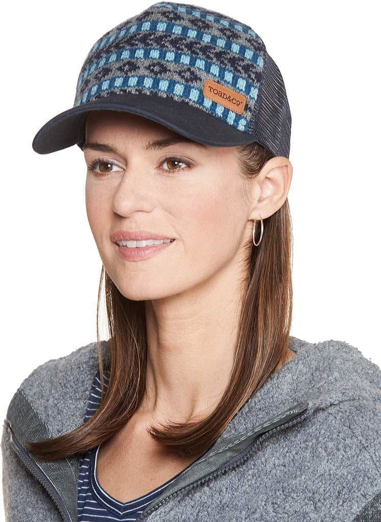 Women Fairisle Trucker - O/S Deep Navy JRI1TCFTH