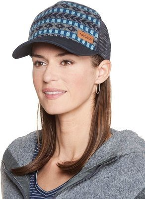 Women Fairisle Trucker - O/S Deep Navy
