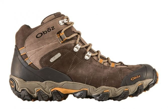 Oboz Men's Bridger Mid Waterproof Hiking Shoe