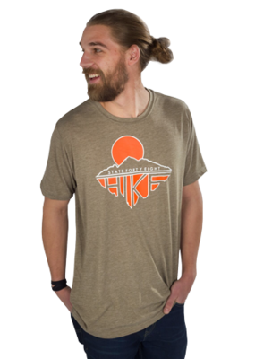 State Forty-Eight Hike Crew Neck Tee - Olive
