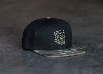 State Forty-Eight Snapback Classic | Camo & Black